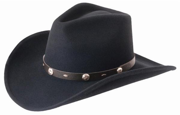 Silverado - Rattler Crushable Wool Western Cowboy Hat