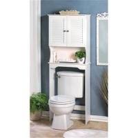 BATHROOM STORAGE SHELF CABINET OVER TOILET SPACE SAVER ...