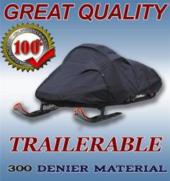 image is loading snowmobile sled cover fits polaris 340 touring 2006  [ 958 x 1024 Pixel ]