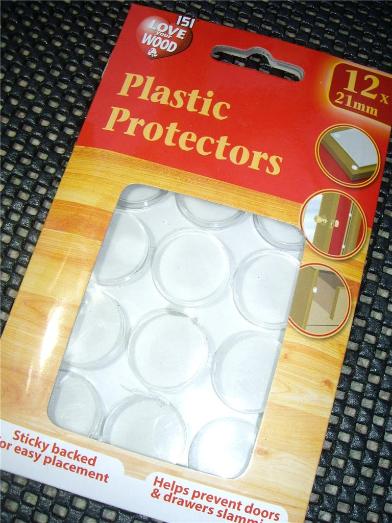 kitchen cupboard protectors countertop for plastic protectors/dots pads self adhesive cabinet buffers ...