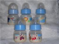 Blue Boy Preemie 2oz Faux Fake Formula Bottle 4UR Reborn
