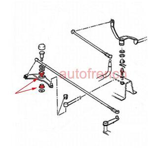 GENUINE Peugeot 309 205 GTI Gear Linkage Control Quadrant