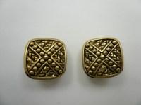 Vintage Antique Button Clip On Earrings | eBay