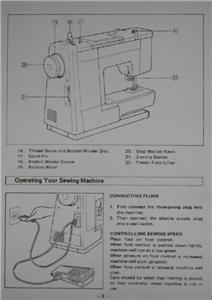 Brother VX 808 Sewing Machine Instruction Manual On CD