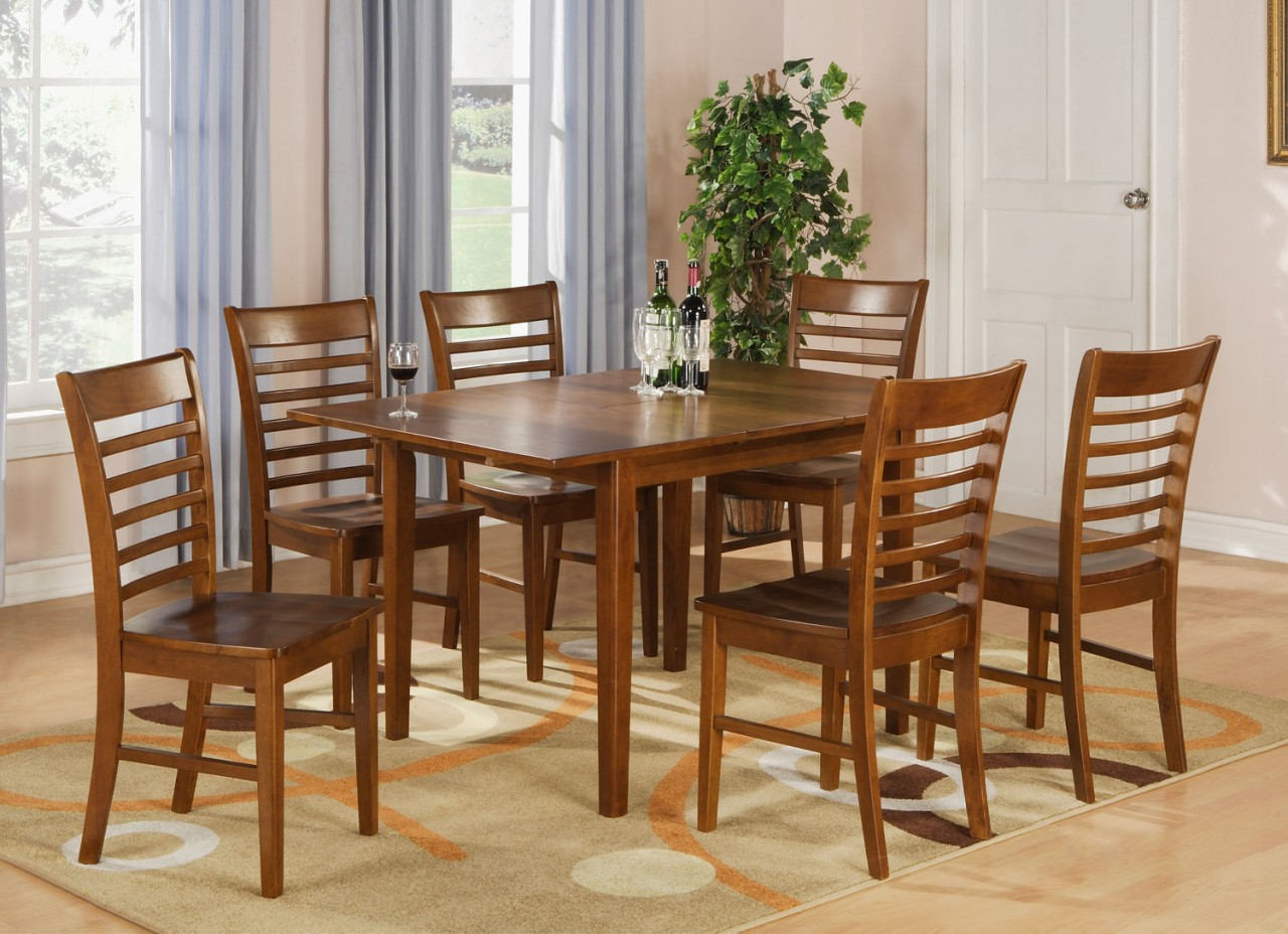 Rectangle Kitchen Table And Chairs Rectangular Dinette Kitchen Dining Table 36 Quotx54 Quot With 12