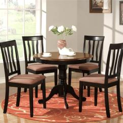 Oak Kitchen Table And Chairs Red Clock Tables 2017 Grasscloth Wallpaper