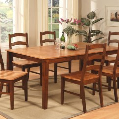 Dining Set With 8 Chairs Wedding Chair Cover Hire Perthshire 9pc Henley Rectangular Dinette Room Table