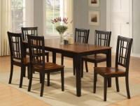 DINETTE KITCHEN DINING ROOM SET 7PC TABLE AND 6 CHAIRS | eBay