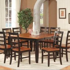 8 Chair Kitchen Table Best Design Program 9 Pc Square Dinette Dining Room Set And Chairs Ebay