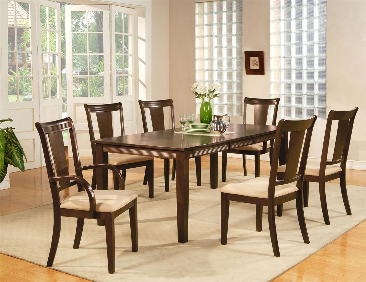 8 chair square dining table mini beach photo frame 9pc rectangular room set and chairs ebay