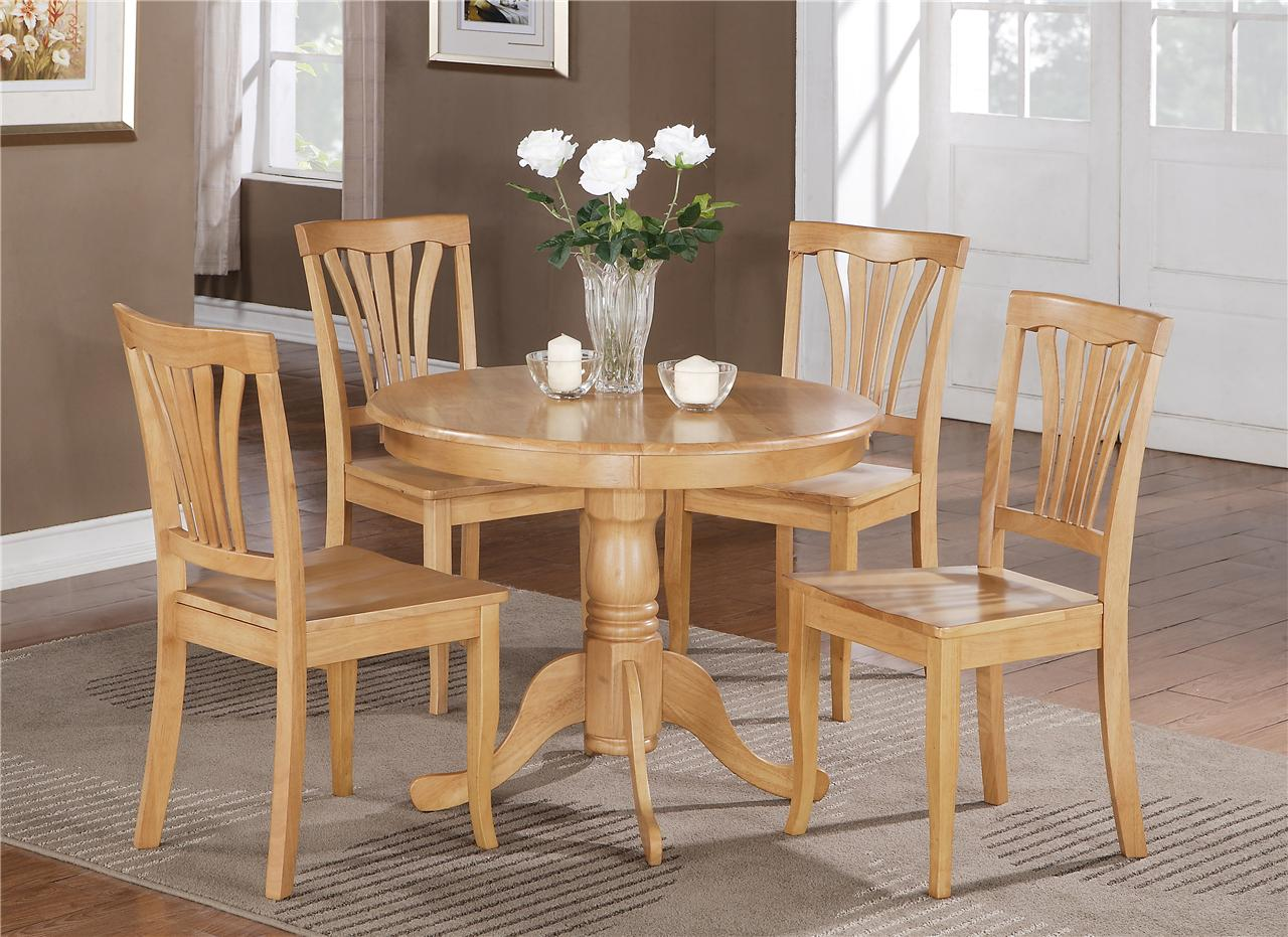 oak kitchen table and chairs qvc.com shopping 5 pc round bristol dinette 4