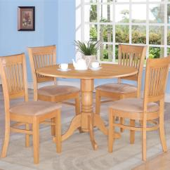Oak Kitchen Table Sets Pop Up Outlets For Round Solid Wood Set With 4 Chairs Bed Mattress Sale