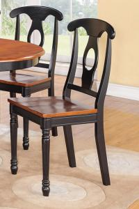 4 NAPOLEON DINING KITCHEN DINETTE WOOD OR LEATHER ...