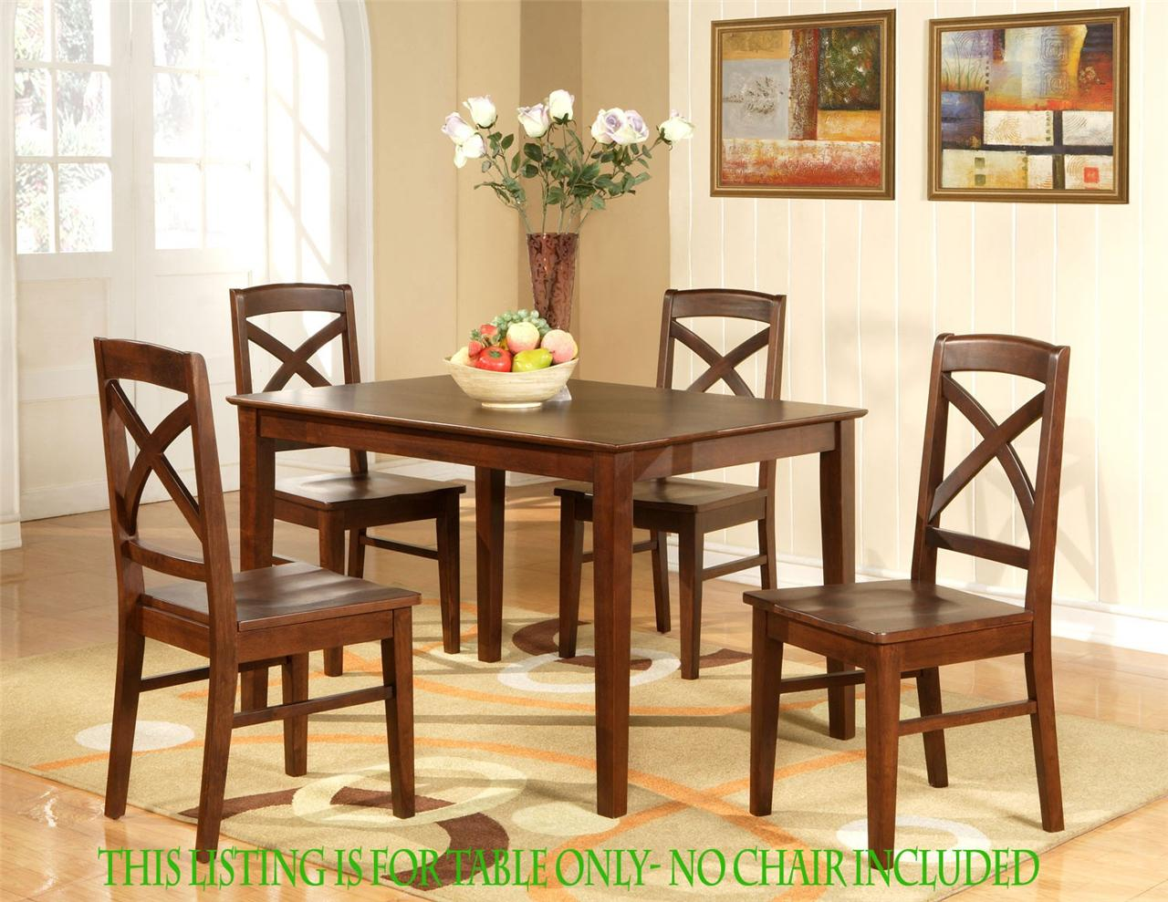 Rectangle Kitchen Table And Chairs Rectangular Dining Room Kitchen Table 36 Quotx48 Quot In Espresso