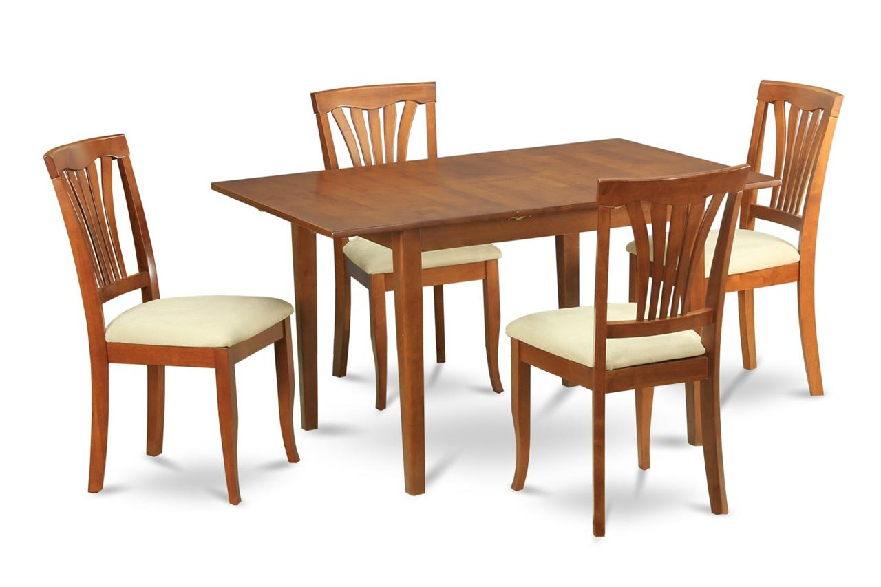 Rectangle Kitchen Table And Chairs 5 Pc Rectangular Dinette Kitchen Dining Table 4