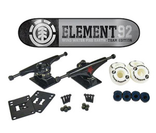 ELEMENT TEAM EDITION LEVEL 8 SKATEBOARD  COMPLETE  eBay