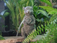 Squirrel Spitter-decorative/fountain/water spouter/pond | eBay