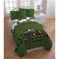FULL Boys JOHN DEERE TRACTOR Comforter Sheets Bed in a Bag ...