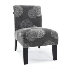 Contemporary Accent Chair Cymax Dining Chairs Modern Armless Upholstered Floral