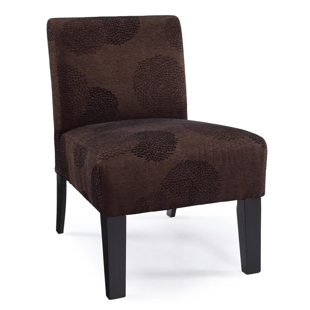 floral upholstered chair wheelchair transfer modern contemporary armless accent
