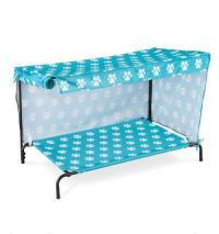 Indoor Outdoor Dog Bed With Canopy Sun Shade 2 Sizes 4 ...