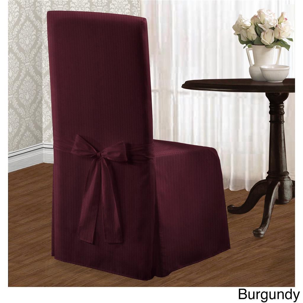 Linen Dining Chair Covers Set Of 2 Chic Modern Stripe Dining Chair Covers Slipcovers
