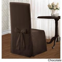 Chair Covers And Linens Antique Electric For Sale Set Of 2 Chic Modern Stripe Dining Slipcovers
