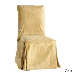 Fancy Chair Covers Living Room Chairs For Small Spaces Set Of 2 Draped Velvet Dining