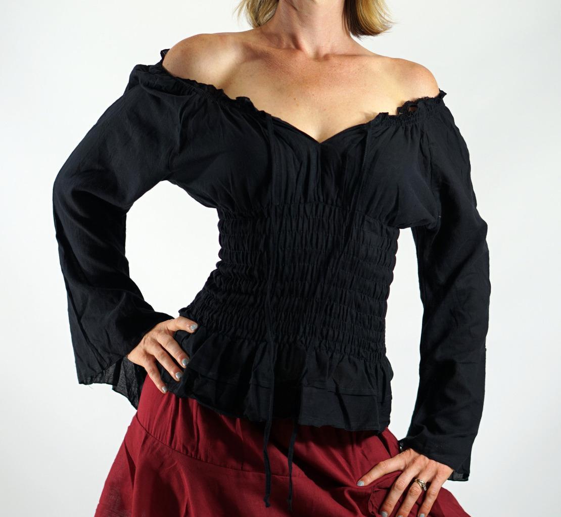832595660 o Womens Pirate Blouse