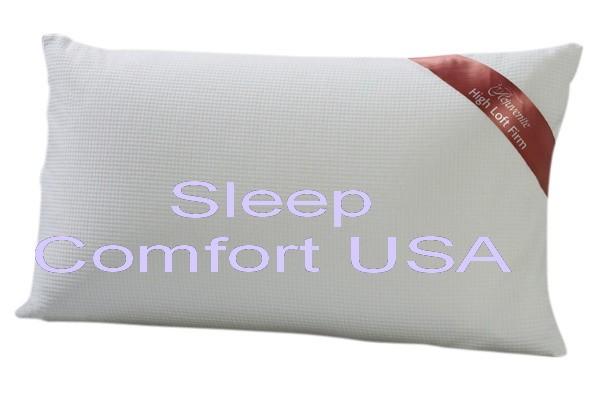 Rejuvenite Restora Talalay Latex Foam High Loft Pillow  eBay