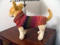 Knitting Pattern for dog sweater XXS/XS/S | eBay