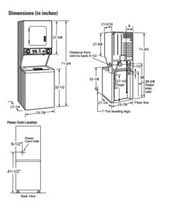 Washer And Dryers: Dimensions Of Washer And Dryer