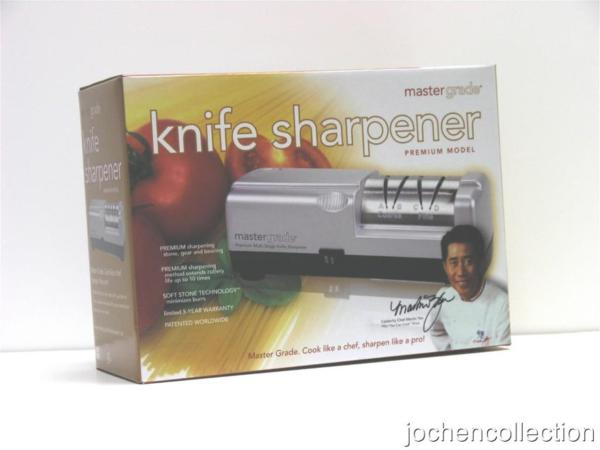 Master Grade Premium Home Electric Knife Sharpener