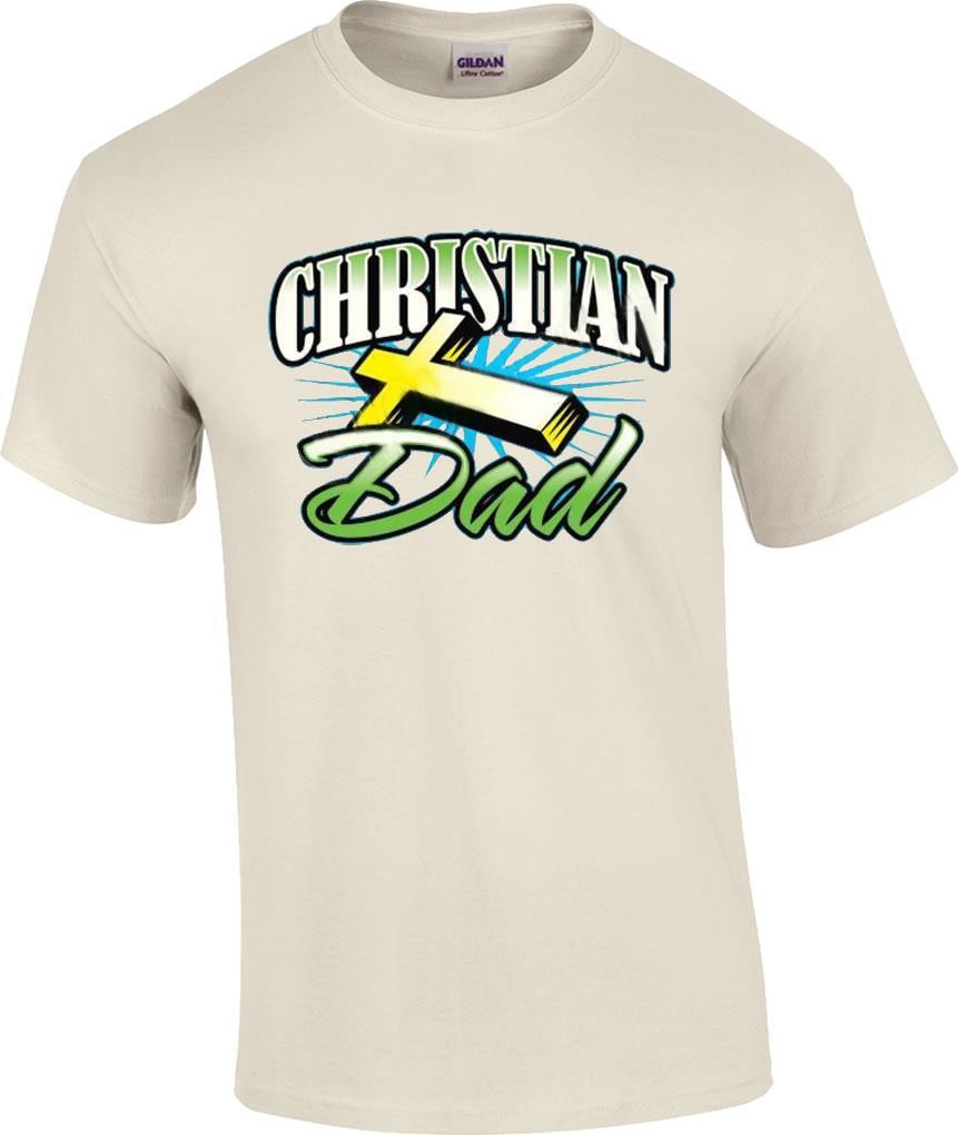 Christian Dad Religious Jesus Christ Cross TShirt  eBay