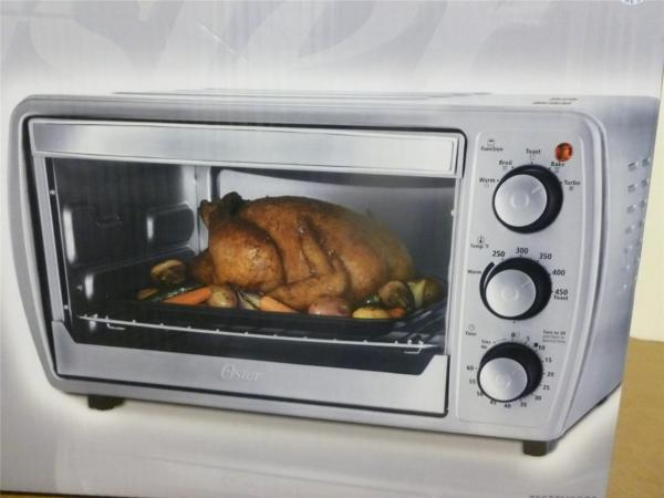 Oster Convection Counter Top Toaster Oven Stainless