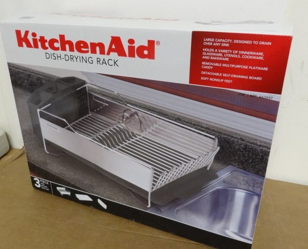 Kitchenaid Dish Drying Rack 3 Piece Black And