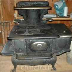 Cast Iron Kitchen Stove 36 Inch Round Table Antique Weir Glenwood 408 E Wood Coal 1903 Vg Condition