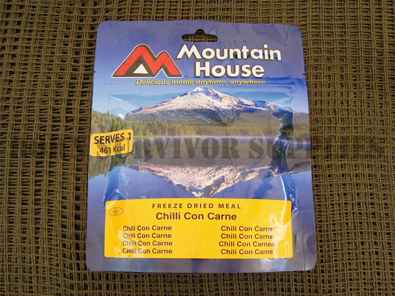 MOUNTAIN HOUSE RATION PACKS