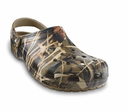 CROCS Mens Classic Realtree Camo Camouflage Khaki  Mens