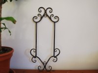 Wrought Iron French Wall Plate Holder Rack Display 50cm | eBay