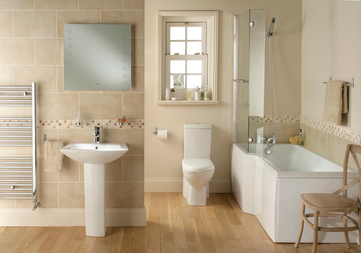 M100 Sorea bathroom suite white bath toilet sink basin pedestal panel 3 piece