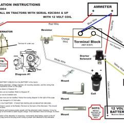 Wiring Diagram 12 Volt Starter Generator Directv Without Swm New 8n Ford Alternator Fits Conversion Kit Side