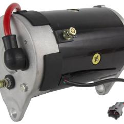 Golf Cart Starter Generator Wiring Diagram Tail Light Yamaha G16 G22 Jn6 H1100 00