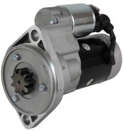 new starter fit motor ingersoll rand 185 p185 air compressor 41r18n yanmar 4 cyl [ 983 x 1024 Pixel ]
