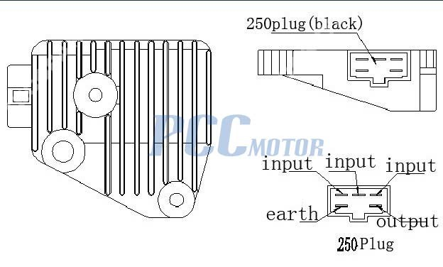 Wiring Diagrams for Lifan 250cc Engine