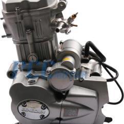 Wiring Diagram Chinese Atv 2008 Lancer Radio 4 Stroke 250cc Zongshen Ohc Water Cooled Quad Engine Motor Cb250 Basic H | Ebay