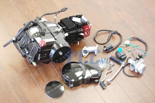 110cc Chinese Atv Wiring Harness Semi Auto Lifan 125cc Motor Engine Cnc Dress Up Kit Pit