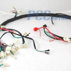 Sunl 50cc Atv Wiring Diagram 99 Jeep Grand Cherokee Limited Radio Harness Schematic Chinese Gy6 150cc Wire Assembly Scooter Moped Pocket Bike Does Not