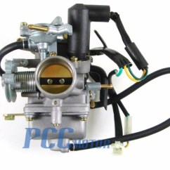 Chinese Mini Quad Wiring Diagram 2016 Jeep Wrangler Stereo 30mm Honda Helix Cn 250 Cn250 250cc Carburetor Moped Scooter 1986-2001 Carb Go ...