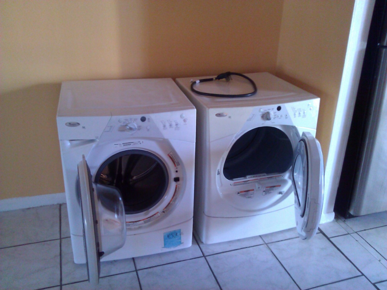 Whirlpool Duet Stackable Washer and Dryer